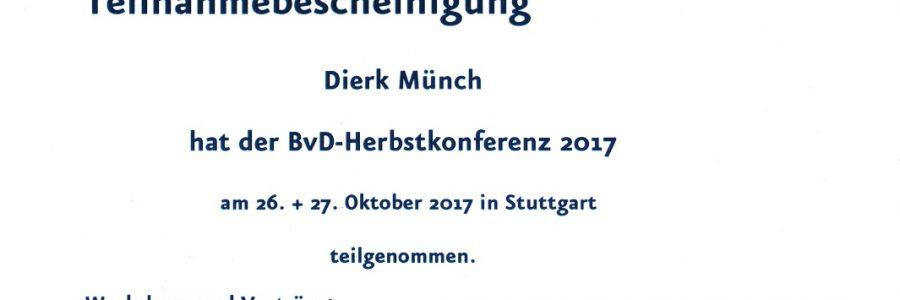 BvD-Herbstkonferenz